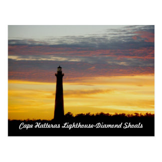 Cape Hatteras Lighthouse at Sunset OBX Postcard