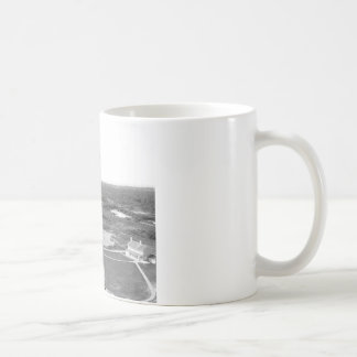 Cape Hatteras Lighthouse black and white photo Mug