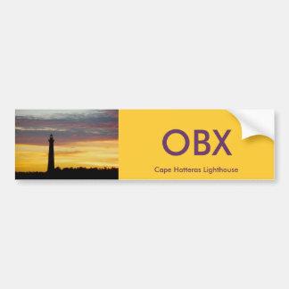 Cape Hatteras Lighthouse Bumper Sticker #1 OBX Car Bumper Sticker