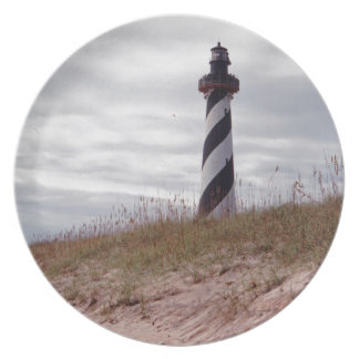 Cape Hatteras Lighthouse Dinner Plates