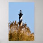 Cape Hatteras Lighthouse - Dune View Print