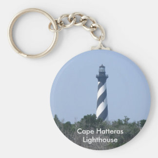 Cape Hatteras Lighthouse from Wetlands Series Key Ring