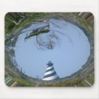 Cape Hatteras Lighthouse from Wetlands Series Mouse Pads