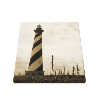 Cape Hatteras Lighthouse Gallery Wrapped Canvas