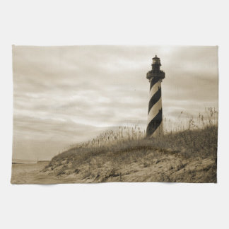 Cape Hatteras Lighthouse Kitchen Towel