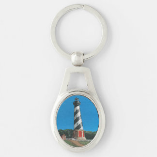 Cape Hatteras Lighthouse Metal Keychain