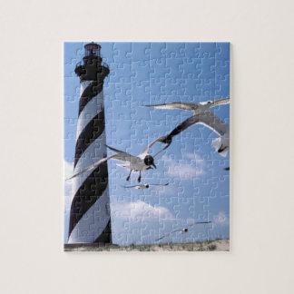 Cape Hatteras Lighthouse North Carolina lighthouse Jigsaw Puzzle