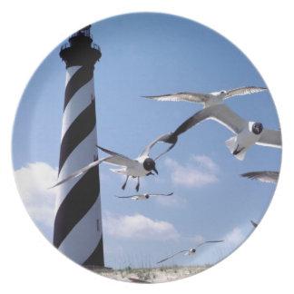 Cape Hatteras Lighthouse North Carolina lighthouse Plate