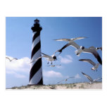 Cape Hatteras Lighthouse North Carolina lighthouse Post Cards