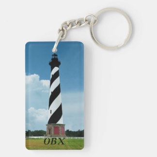 Cape Hatteras Lighthouse Outer Banks NC Key Ring