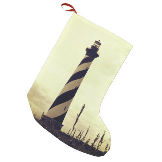 Cape Hatteras Lighthouse Small Christmas Stocking
