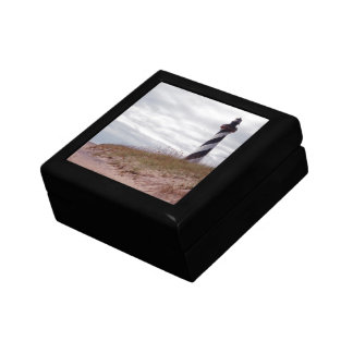 Cape Hatteras Lighthouse Small Square Gift Box
