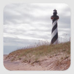 Cape Hatteras Lighthouse Square Sticker