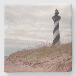 Cape Hatteras Lighthouse Stone Coaster