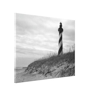 Cape Hatteras Lighthouse Stretched Canvas Print