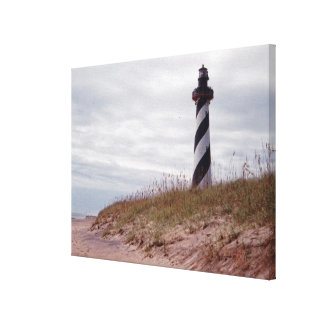 Cape Hatteras Lighthouse Stretched Canvas Prints