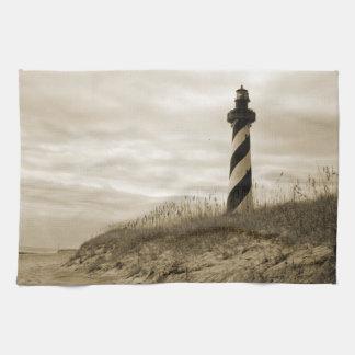 Cape Hatteras Lighthouse Tea Towel