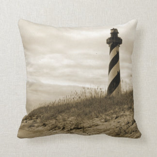 Cape Hatteras Lighthouse Throw Cushion