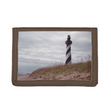 Cape Hatteras Lighthouse Trifold Wallet
