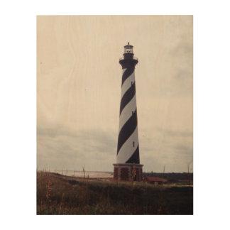Cape Hatteras Lighthouse Wood Prints