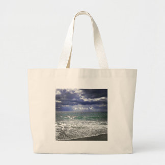 Cape Hatteras, NC Large Tote Bag