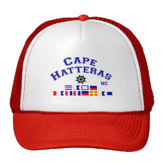 Cape Hatteras NC Signal Flags Cap