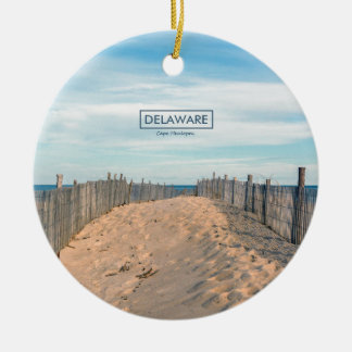 Cape Henlopen. Christmas Ornament