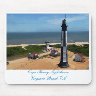Cape Henry Lighthouse Mouse Mat