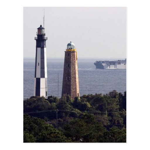 Cape Henry Lighthouses Post Cards