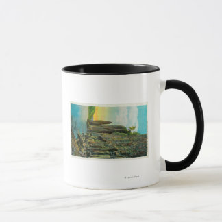 Cape Horn and Cigar Rock on Columbia River Mug
