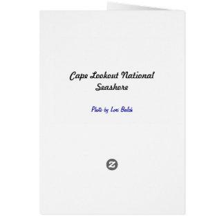 Cape Lookout National Seashore Card