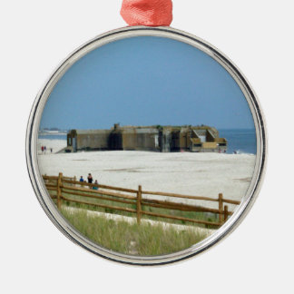 Cape May Bunker Christmas Ornament