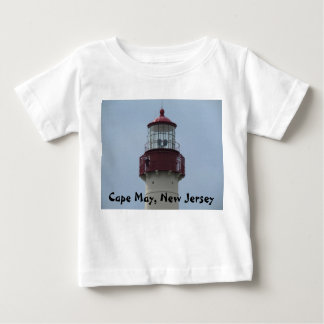 Cape May Lighthouse Baby T-Shirt