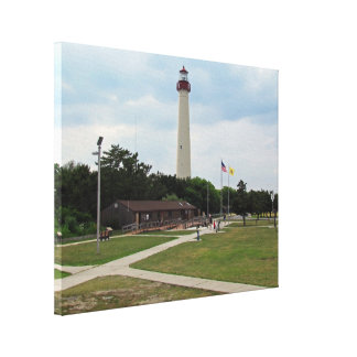Cape May Lighthouse Canvas Prints
