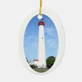 Cape May Lighthouse Christmas Ornament