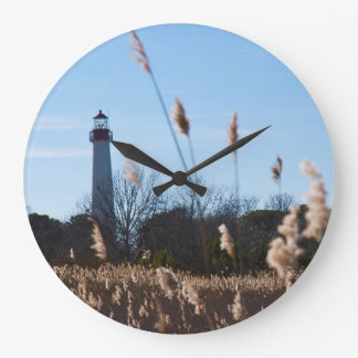 Cape May lighthouse Large Clock