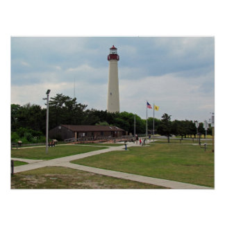 Cape May Lighthouse Poster