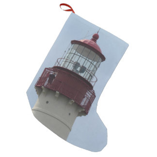 Cape May Lighthouse Small Christmas Stocking