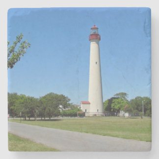 Cape May Lighthouse Stone Coaster