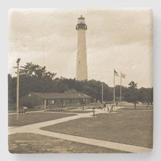 Cape May Lighthouse Stone Coaster