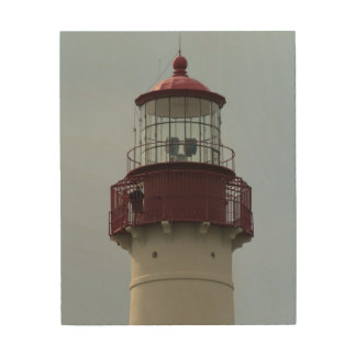 Cape May Lighthouse Wood Canvas
