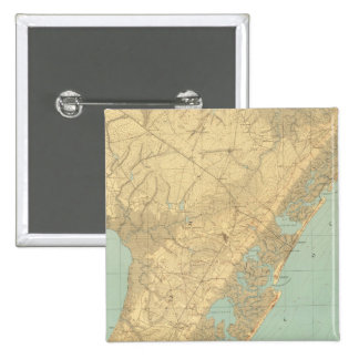 Cape May, New Jersey 15 Cm Square Badge