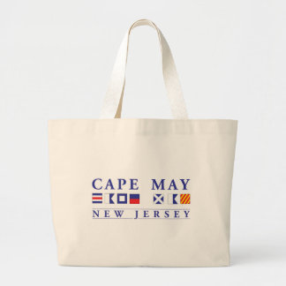 Cape May New Jersey Large Tote Bag