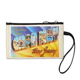 Cape May New Jersey NJ Vintage Travel Postcard- Change Purse