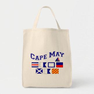 Cape May, NJ - 2 Canvas Bag