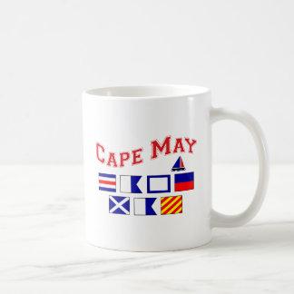 Cape May, NJ Basic White Mug