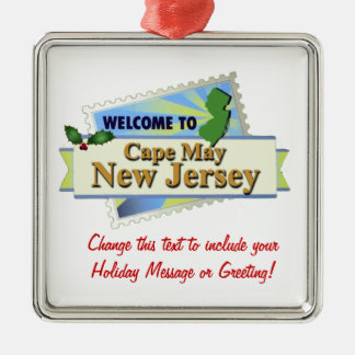 Cape May NJ Christmas Ornament