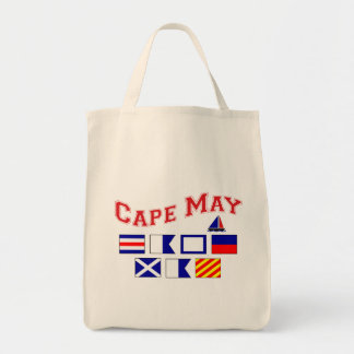 Cape May, NJ Grocery Tote Bag