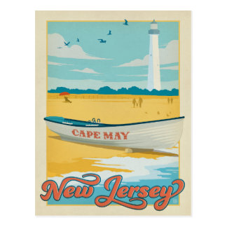 Cape May, NJ Postcard