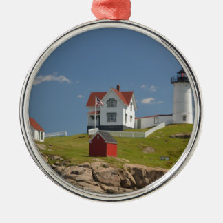Cape Neddick Lighthouse Christmas Ornament
